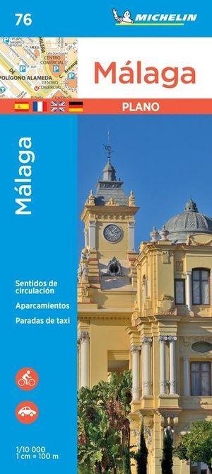 Malaga stadsplattegrond Michelin 76