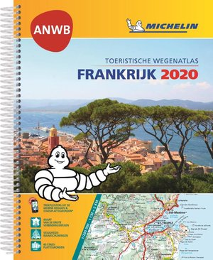 *ATLAS MICHELIN ANWB FRANKRIJK 2020