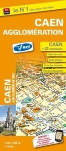 Blay Foldex - Caen Stadsplattegrond - 1:12.500