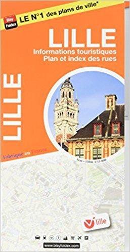 Blay Foldex - Lille Stadsplattegrond - 1:15.000