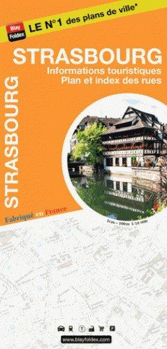 Blay Foldex, Strasbourg Stadsplattegrond - 1:10.000
