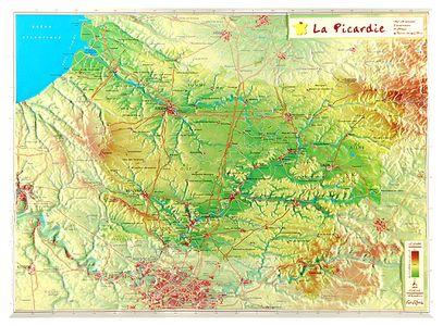 La Picardie Georelief