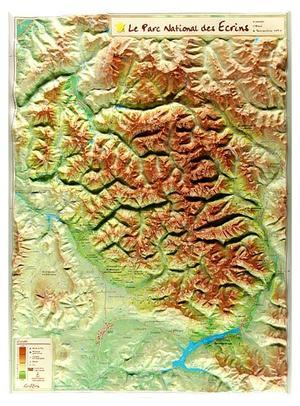 Parc National Des Ecrins Georelief