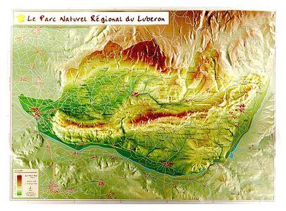 Parc Naturel Regional Du Luberon Georelief