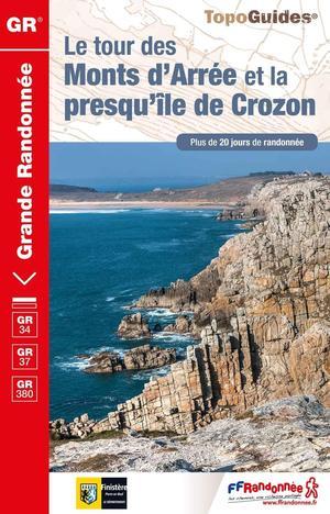 GR 34 / GR 37 / GR 380 - Le tour des Monts d'Arrée & la presqu'île de Crozon (FFRP 380)