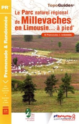 Parc de Millevaches en Limousin PNR à pied 18PR 4GRP