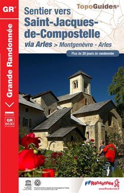 GR 653D Sentier St-Jacques de Compostelle: Montgenèvre-Arles