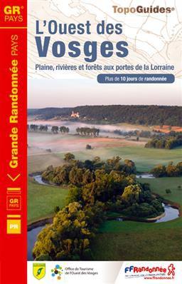 Ouest des Vosges 881 GR +10j. de rand.