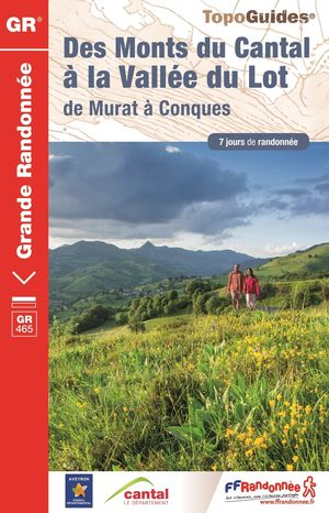 Monts du Cantal à la vallée du Lot GR