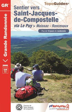 Sentier St-Jacques - Moissac-Roncevaux GR65+15 j.de rand