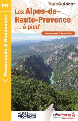 Alpes de Haute Provence à pied 36PR