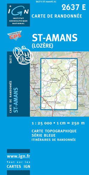 St-amans (lozere) Gps