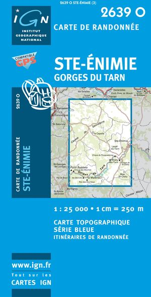 St-enimie/gorges Du Tarn Gps