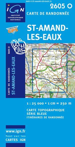 St-amand-les-eaux Gps