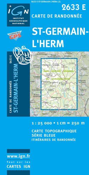 Saint-germain-l'herm Gps
