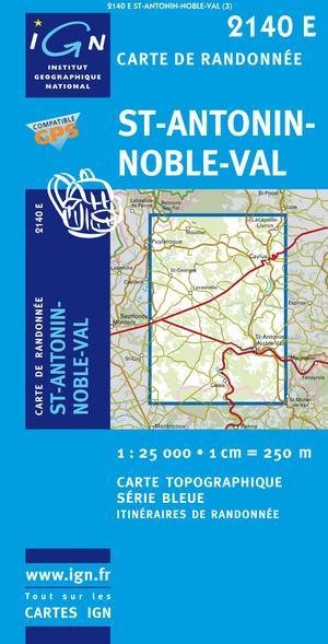 Saint-antonin-noble-val Gps