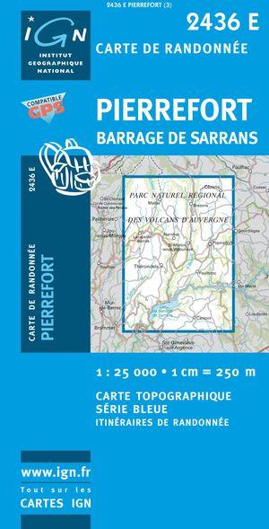 Pierrefort / Barrage De Sarrans Gps