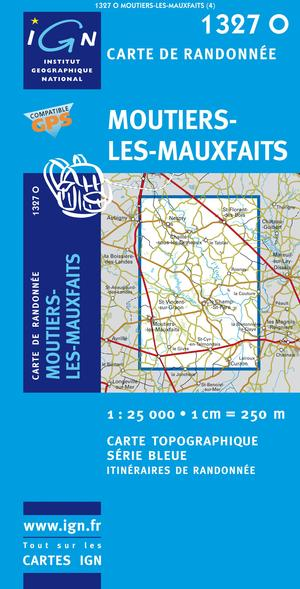 Moutiers-les-mauxfaits Gps