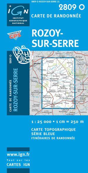 Rozoy-sur-serre Gps