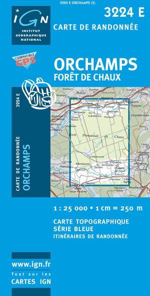Orchamps/foret De Chaux Gps