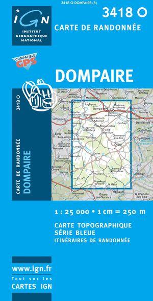 Dompaire Gps