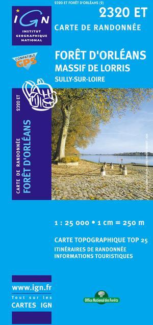 Foret D'orleans/massif De Lorris/sully-sur-loire Gps
