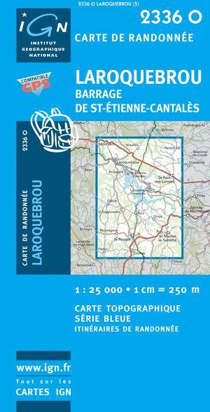 Laroquebrou / Barrage De St-etienne-cantales