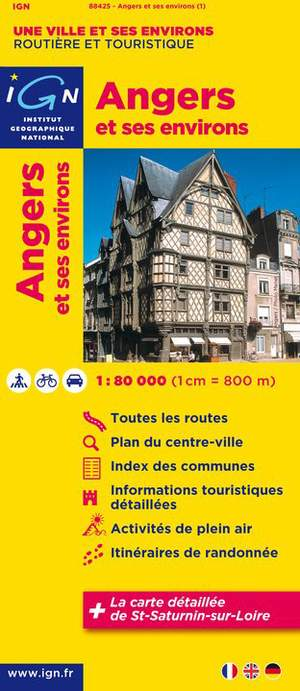 Angers And Surroundings