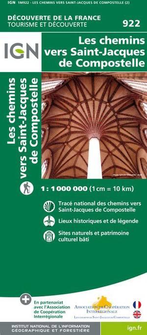Chemins Vers St-jacques-de-compostelle