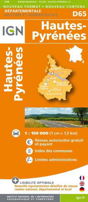 Hautes-pyrenees Dep 65