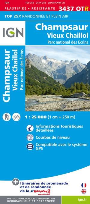 Champsaur / Vieux Chaillol / Pnr Des Ecrins Gps