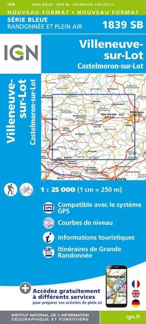 Villeneuve-sur-Lot - Castelmoron-sur-lot gps