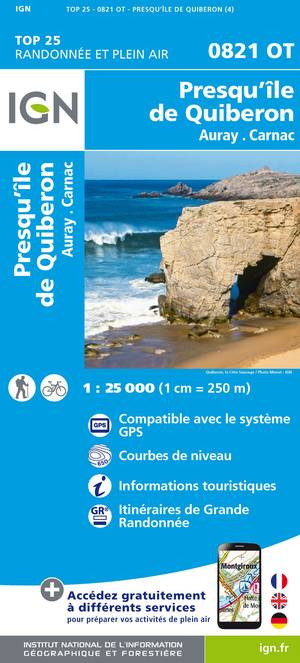 Presqu'Ile de Quiberon / Auray / Carnac
