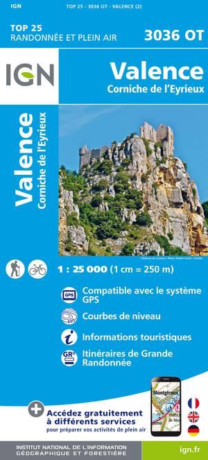 Valence / Corniche de l'Eyrieux