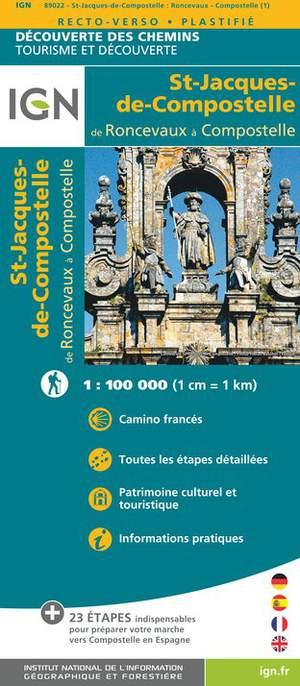 St-Jacques-de-Compostelle / Roncevaux - Compostelle