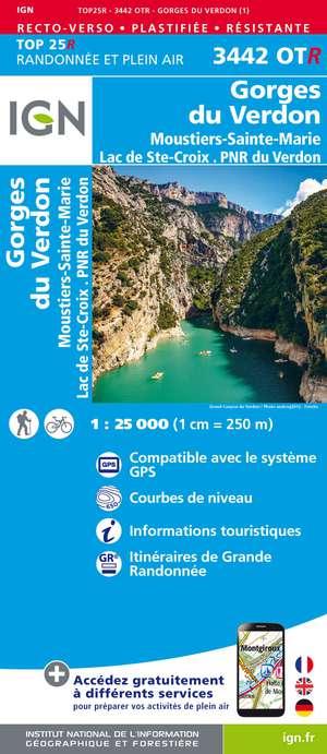 Gorges du Verdon / Moustiers-Ste-Marie / Lac Ste-Croix