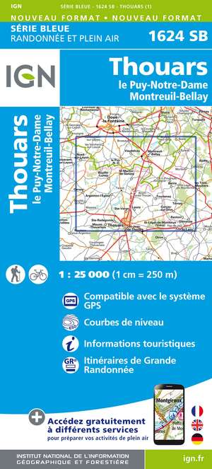Thouars / Le Puy-Notre-Dame / Montreuil-Bellay