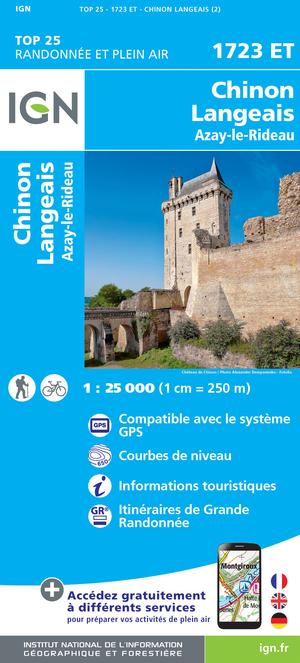Chinon / Langeais / Azay-le-Rideau