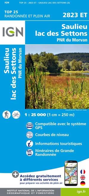Saulieu / Lac des Settons / PNR du Morvan