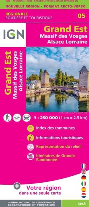 Grand Est - Massif des Vosges - Alsace - Lorraine