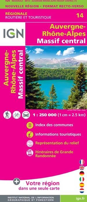 Auvergne - Rhône-Alpes - Massif Central