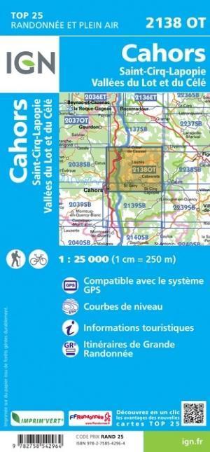 Cahors / St-Cirq-Lapopie / Vallée du Lot et du Célé