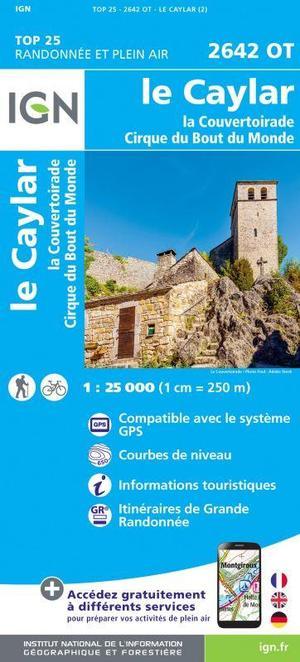 2642OT Le Caylar, La Couvertoirade, Cirque du Bout du Monde