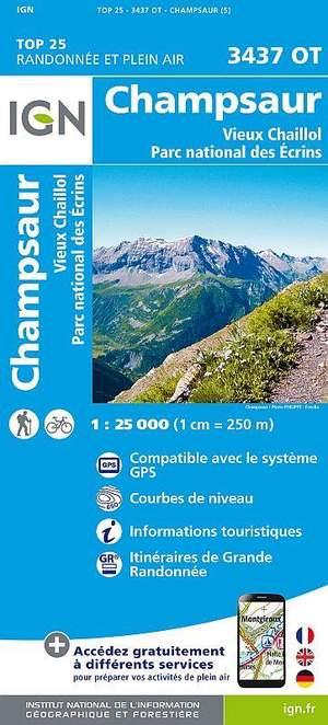 3437OT Champsaur, Vieux Chaillol, PNR des Ecrins