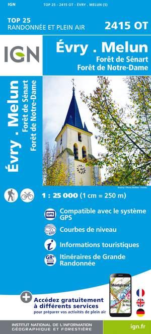 Evry / Melun / Forêts:Notre-Dame, Sénart, Rougeau