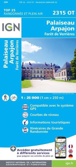 2315 OT Palaiseau, Arpajon, Forêt de Verrières