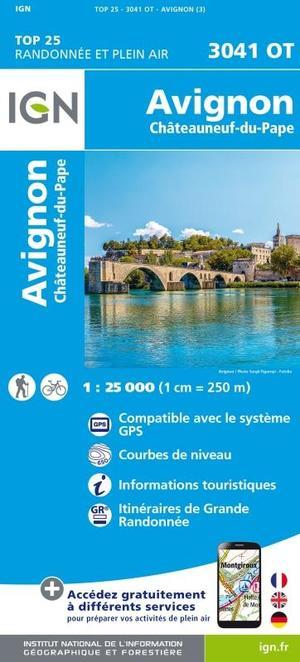 Avignon / Châteauneuf-du-Pape gps
