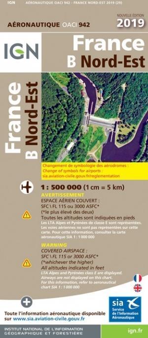 OACI 942 Frankrijk Noord-Oost 2019 papier