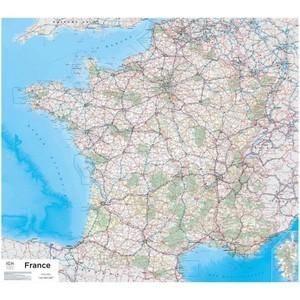 Frankrijk plano geplastificeerd