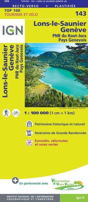 143 Lons-le-Saunier, Genève, PNR du Haut-Jura, Pays Genevois